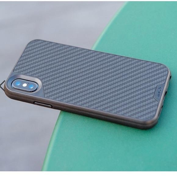 timeless design 1fdb3 94b49 Mous carbon fiber iPhone X case NWT